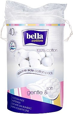 Duo-Wattepads aus Baumwolle - Bella Cotton Duo-Wattepads