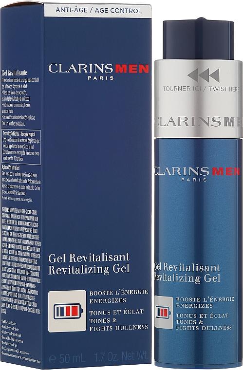 Regenerierendes und pflegendes Gesichtsgel - Clarins Men Revitalizing Gel — Bild N1