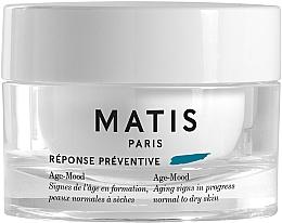 Düfte, Parfümerie und Kosmetik Pflegende und feuchtigkeitsspendende Anti-Aging Gesichtscreme mit Hyaluronsäure und Illipebutter für normale bis trockene Haut - Matis Reponse Preventive Age-Mood