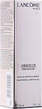 Düfte, Parfümerie und Kosmetik Gesichtsöl - Absolue Precious Cells Nourishing Luminous Oil