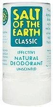 Düfte, Parfümerie und Kosmetik Deostick mit natürlichen Mineralsalzen - Salt of the Earth Crystal Classic Deodorant