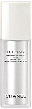 Aufhellendes Gesichtsserum gegen Pigmentflecken - Chanel Le Blanc Illuminating Brightening Concentrate — Bild N1