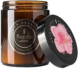Düfte, Parfümerie und Kosmetik Duftkerze im Glas Wildrose - Flagolie Fragranced Candle Wild Rose