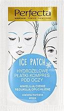 Düfte, Parfümerie und Kosmetik Hydrogel Augenpatches - DAX Perfecta Ice Eye Patch