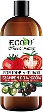 Düfte, Parfümerie und Kosmetik Shampoo mit Tomate und Olive für dünnes Haar - Eco U Shampoo For Fine Hair
