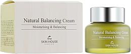 Düfte, Parfümerie und Kosmetik Natürliche ausgleichende und feuchtigkeitsspendende Gesichtscreme mit Aloe Vera und grünem Tee für gemischte, empfindliche und Problemhaut - The Skin House Natural Balancing Cream