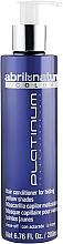 Düfte, Parfümerie und Kosmetik Anti-Gelbstich Haarmaske - Abril et Nature Color Platinum Toner Blonde Hair