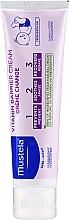 Düfte, Parfümerie und Kosmetik Schützende Windelcreme mit Vitamin B5 und F - Mustela Bebe Vitamin Barrier Cream