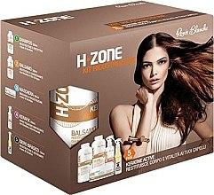 Düfte, Parfümerie und Kosmetik Regenerierendes Haarset - H.Zone (Shampoo 500ml + Haarlotion 500ml + Haarspray 250ml + Haarserum 150ml + Tuch)