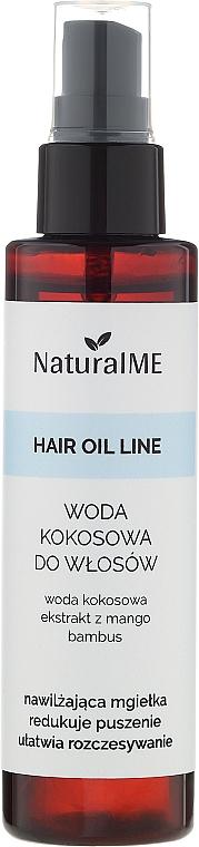 Kokoswasser für das Haar - NaturalME Hair Oil Line