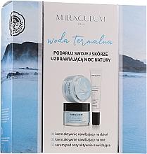 Düfte, Parfümerie und Kosmetik Gesichtspflegeset - Miraculum Woda Termalna (Gesichtscreme 2x50ml + Gesichtsserum 20ml)