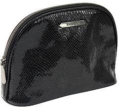 Düfte, Parfümerie und Kosmetik Kosmetiktasche Black Shine groß 4994 schwarz - Donegal