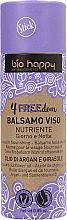 Düfte, Parfümerie und Kosmetik Nährender Gesichtsbalsam mit Argan- und Sonnenblumenöl - Bio Happy 4FREEdom Nourishing Face Balm
