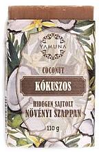 Düfte, Parfümerie und Kosmetik Mydło tłoczone na zimno Kokos - Yamuna Coconut Cold Pressed Soap
