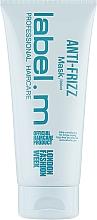 Düfte, Parfümerie und Kosmetik Glättende Haarmaske - Label.m Anti-Frizz Mask