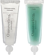 Düfte, Parfümerie und Kosmetik Zweistufiges Gesichtspeeling mit Milchsäure und Kupfer - Omorovicza Copper Peel