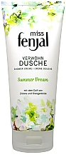 Düfte, Parfümerie und Kosmetik Duschcreme mit dem Duft von Zitrone und Orangenblüte - Fenjal Miss Summer Dream Shower Cream