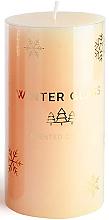 Düfte, Parfümerie und Kosmetik Duftkerze beige 9x8 cm - Artman Winter Glass