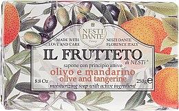 Düfte, Parfümerie und Kosmetik Naturseife Olive & Mandarine - Nesti Dante Il Frutteto Soap
