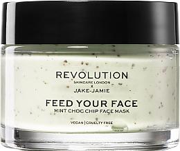 Düfte, Parfümerie und Kosmetik Erfrischende Pfefferminz-Gesichtsmaske - Revolution Skincare X Jake-Jamie Mint Choc Chip