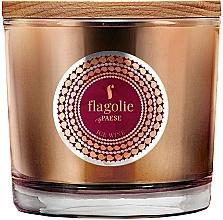 Düfte, Parfümerie und Kosmetik Duftkerze im Glas Eiswein - Flagolie Fragranced Candle Ice Wine
