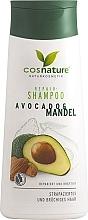 Düfte, Parfümerie und Kosmetik Regenerierendes und kräftigendes Shampoo mit Avocado und Mandel für strapaziertes und brüchiges Haar - Cosnature Repair Shampoo Almonds & Avocado