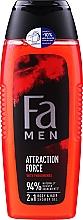 Düfte, Parfümerie und Kosmetik Duschgel - Fa Attraction Force Shower Gel