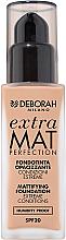 Düfte, Parfümerie und Kosmetik Mattierende Foundation - Deborah Extra Mat Perfection SPF20