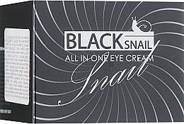 Düfte, Parfümerie und Kosmetik Augencreme mit schwarzem Schneckenmucin - FarmStay All-In-One Black Snail Eye Cream