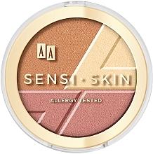 Düfte, Parfümerie und Kosmetik 3in1 Konturpalette - AA Sensi Skin