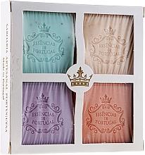 Düfte, Parfümerie und Kosmetik Naturseifen Geschenkset 4 St. - Essencias De Portugal Aromas Collection (Seifen 4x80g)
