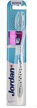 Düfte, Parfümerie und Kosmetik Zahnbürste mittel Individual Reach weiß mit Vögeln - Jordan Individual Reach Toothbrush