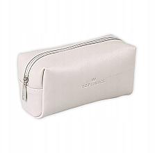 Düfte, Parfümerie und Kosmetik Kosmetiktasche Leather 96945 weiß - Top Choice