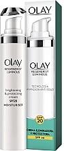 Düfte, Parfümerie und Kosmetik Aufhellende, schützende und feuchtigkeitsspendende Gesichtscreme SPF 20 - Olay Regenerist Luminous Brightening & Protecting Cream SPF-20