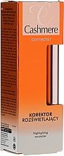 Düfte, Parfümerie und Kosmetik Aufchelender Concealer für das Gesicht - Dax Cashmere Corrector Highlighting Concealer