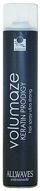 Haarspray mit Keratin Ultra starker Halt - Allwaves Volumaze Keratin Prodigy Hair Spray Ultra Strong