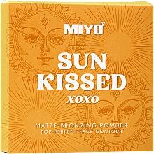 Düfte, Parfümerie und Kosmetik Bronzepuder - Miyo Sun Kissed Matt Bronzing Powder