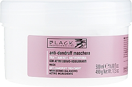 Düfte, Parfümerie und Kosmetik Anti-Schuppen Haarmaske - Black Professional Line Anti-Dandruff Mask