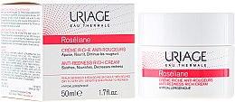 Düfte, Parfümerie und Kosmetik Reichhaltige und beruhigende Gesichtscreme gegen Rötungen - Uriage Roseliane Anti-Redness Rich Cream