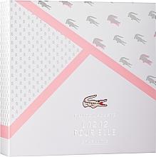 Düfte, Parfümerie und Kosmetik Lacoste Eau de Lacoste L.12.12 Pour Elle Sparkling - Duftset (Eau de Toilette 90ml + Duschgel 150ml)