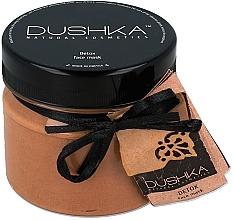 Düfte, Parfümerie und Kosmetik Entgiftende und regenerierende Gesichtsmaske - Dushka