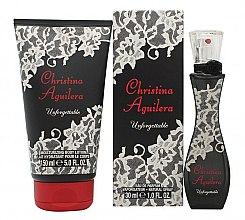 Düfte, Parfümerie und Kosmetik Christina Aguilera Unforgettable - Duftset (Eau de Parfum 30ml + BodyLotion 150ml)