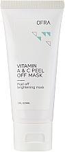 Düfte, Parfümerie und Kosmetik Peel-Off Gesichtsmaske mit Vitamin A und C - Ofra Vitamin A & C Peel Off Mask