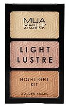 Düfte, Parfümerie und Kosmetik Highlighter-Palette - MUA Light Lustre Trio Highlight