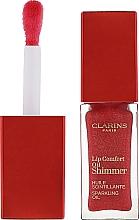 Düfte, Parfümerie und Kosmetik Schimmerndes Lipgloss-Öl - Clarins Lip Comfort Oil Shimmer