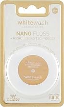 Düfte, Parfümerie und Kosmetik Zahnseide aus weichem Micro Faser 25 m - WhiteWash Laboratories