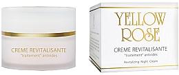Düfte, Parfümerie und Kosmetik Revitalisierende Anti-Aging Nachtcreme - Yellow Rose Creme Revitalisante