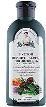 Düfte, Parfümerie und Kosmetik Dickflüßiges Shampoo für dünnes und kraftloses Haar - Rezepte der Oma Agafja