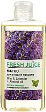 Düfte, Parfümerie und Kosmetik Pflege- und Massageöl für den Körper mit Minze, Lavendel und Mandelöl - Fresh Juice Energy Mint&Lavender+Almond Oil