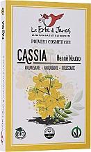 Düfte, Parfümerie und Kosmetik Natürliches Cassia-Pulver für glänzendes und geschmeidiges Haar - Le Erbe di Janas Cassia (Neutral Henna)